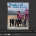Screenshot of flipbook PDF reader for Municipal Water Leader April 2016. Volume 2 Issue 4.