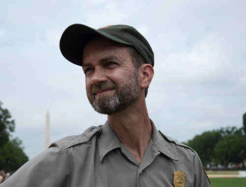 Portrait photo of Michael Stachowicz, Turf Management Specialist National Park Service in Washington, DC.