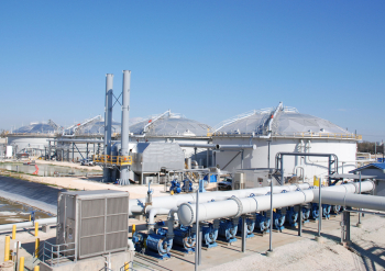 Photo of bayport industrial wastewater treatment facility