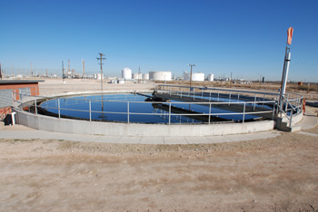 Photo of Odessa South industrial wastewater treatment facility in Odessa, Texas